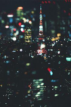 Tokyo night via ak47