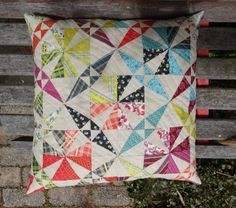 The Elven Garden: Spinning Canoes Cushion