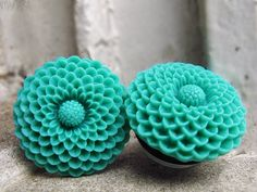Jade  Charming plugs for stretched ears 25mm by manakahandmade, £20.00