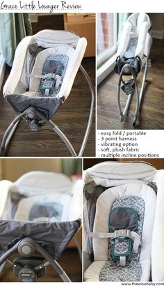 The Graco Little Lounger review + giveaway!  The Little Lounger is a multifunctional piece of baby gear that is super easy to move around.  Great for taking to grandparents, friends for the holidays!