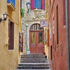 Chania Old town   #chania #crete island #greece