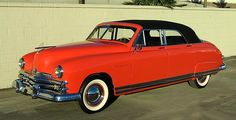 1949 Kaiser Virginian | Amazing Classic Cars  The wheel here is more chrome than red paint, but i like it