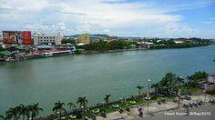 iloilo pictures | aerial view of iloilo river gaisano area by lydia c pendon iloilo city ...