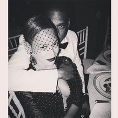 Beyoncé in Givenchy with Jay-Z at the 2014 Met Gala