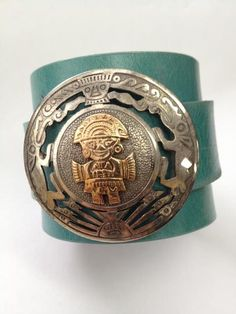 Vintage S/S Mexican Leather Cuff Nice and Pretty +dreadstop @DreadStop