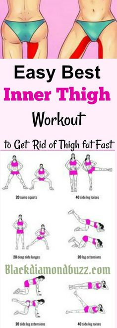 21 Minutes a Day Fat Burning Inner thigh slimming workouts Here are easy best inner thigh exercises to get rid of thigh fat and tone legs fast at home Using this Fitness Workouts, Ab Workouts, Yoga Fitness, Slim Thigh Workouts, Workout Routines, Workout Plans, Thigh Gap Exercise, Inner Leg Workouts, Easy Daily Workouts