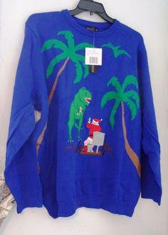 Jurassic World Ugly Christmas Sweater   Jurassic Park / Jurassic ...