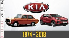 W.C.E - Kia Evolution (1974 - 2018) Cars And Motorcycles, Evolution, Classic Cars, 1, Japanese, History, Vehicles, Korean, Youtube