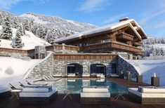 Ultimate Luxury Chalets introduces the new additions to our portfolio of luxury ski chalets in Switzerland for winter The best new Swiss ski chalets Alpine Chalet, Ski Chalet, Alpine House, Swiss Ski, Swiss Alps, Le Palace, Luxury Ski Holidays, Chalet Design, St Moritz