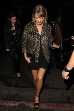 Pin for Later: Lorde and Taylor Swift Are All Smiles During Their Girls' Night Out