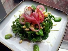 "Portland ""Farm to table"" salad, a philosophy to saving money and eating the best of what is available"