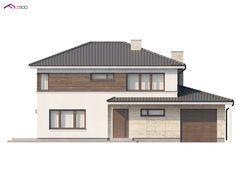 Zx8 to wyjątkowy dom z kategorii projekty domów piętrowych (dwukondygnacyjnych) Style At Home, Home Fashion, Opal, House Design, House Styles, Home Decor, Home, Design For Home, Projects