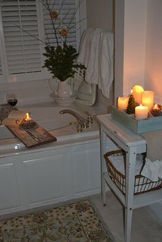 Bathtub tray...is just a board....easy to do and use