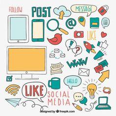 Elementos de medios sociales