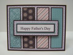 Stampin Up Handmade Greeting Card: Father's Day Card, Happy Father's …
