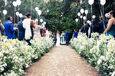 The Stylish Couple's Capri Coastline Wedding Is A Must-See #refinery29  http://www.refinery29.com/2014/07/71521/erica-pelosini-capri-wedding-pictures#slide7