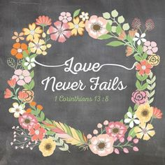 Love Never Fails Greetings Card NWT JW Gift by HappySheepCards