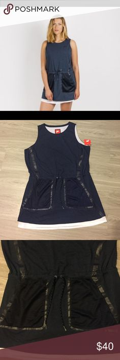 Nike Wmns Premium Pack Dress Super Comfortable Nike Dress. Waist drawstring and functional pockets. Listed at $119 on The Nike Site get it here for a fraction of the price, message me with any questions. ❌ No Trades Nike Dresses