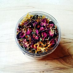 This soothing bath tea blend has been created to use postpartum as a gentle relaxing herbal bath both mother and baby can share, blended with herbs