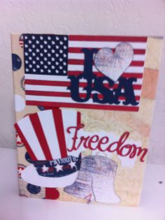 4th of July scrapbook Kathy Orta inspired. Paper by Bo Bunny.