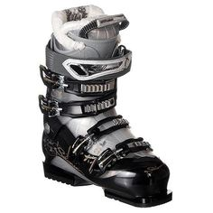 106460aae83c Salomon Divine 6 Ski Boots Black Crystal Starlight Women s Sz 9.5 (26.5)  Salomon