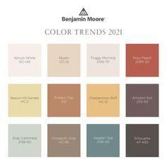 Colores Benjamin Moore, Benjamin Moore Paint, Benjamin Moore Colors, Trending Paint Colors, Paint Colors For Home, Warm Paint Colors, Modern Paint Colors, Modern Color Palette, Colour Schemes