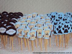 Tags para Docinhos e Cupcakes