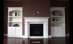 Custom Made Arts And Crafts Fireplace Surround