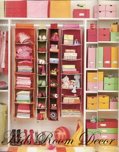 "This appeals to my organization obsession; but if the girls had a closet like this, would everything just be in a new, ""wrong"" place??"