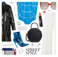 """""""NYFW: Street Style"""" by ames-ym ❤ liked on Polyvore featuring Roland Mouret, MM6 Maison Margiela, Mansur Gavriel, Balenciaga, Gucci, Myia Bonner, Maya Magal, Bobbi Brown Cosmetics, Hot Topic and StreetStyle"""