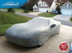 Gray Coverking Custom Fit Car Cover for Select Chevrolet Malibu Models Mosom Plus