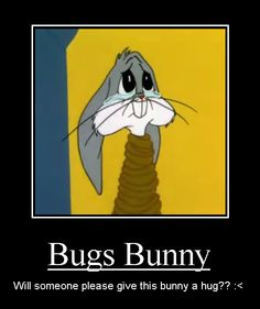 Bugs Bunny Motivator by Kiss-the-Iconist.deviantart.com on @deviantART.  I JUST found it and just can't keep my eyes of it