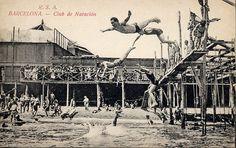 Club de Natación, Barcelona by jordipostales, via Flickr