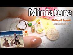 미니어쳐 월레스와 그로밋 치즈 크래커 Miniature * Wallace & Gromit: A Grand Day Out - YouTube