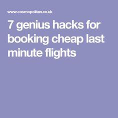 7 genius hacks for booking cheap last minute flights