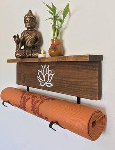 Yoga mat display