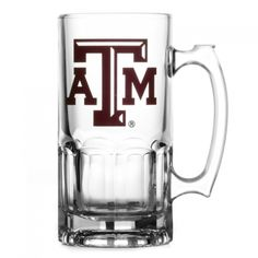 Aggie Chugger Mug.  Great gift for the groomsmen AND they can use it at the wedding!  Other side engraved with their names.