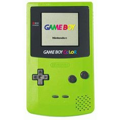 Gameboy color lime green
