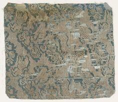 Fragment Date: 16th century Culture: Northern Italian Medium: Silk, metal thread Accession Number: 2002.494.609