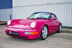 Porsche 964 RS Touring; Not into the color, but nice car