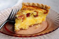 Brie and Bacon Quiche | Tasty Kitchen Blog
