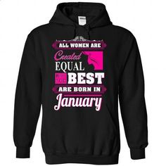 January - #college sweatshirt #sweater ideas. BUY NOW => https://www.sunfrog.com/LifeStyle/January-7552-Black-Hoodie.html?68278