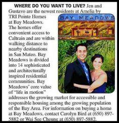 New Homeowners at Amelia at Bay Meadows