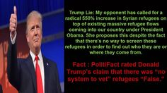 Donald Told  Less Than 6 Fact Checked Proven Lies During His Acceptance Speech   On account of the early spilling of Trump's discourse transcript it was simple for truth checkers to pre-expose Donald Trump's acknowledgment discourse lies.   The full rundown of certainty checked Trump untruths can be found here. The following are few of Trump's greatest lies in Cleveland:   Trump Lie: President Obama has multiplied our national obligation to more than $19 trillion and developing.   Reality…