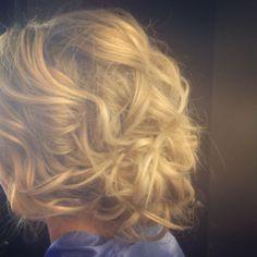 #curls #messyupdo #updo #softhair