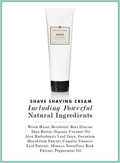 We've officially launched our unisex Shave Shaving Cream!! Shop it here: www.marthahayworth.beautycounter.com