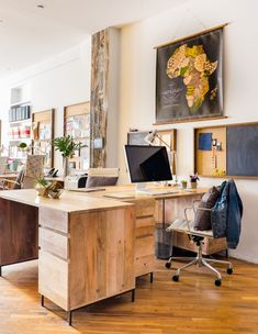 West Elm Feed Office Makeover