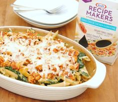 Use meal kit for chicken florentine