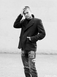 Oh Lord - my fav look  :)     HQ Jared Leto photoshoot