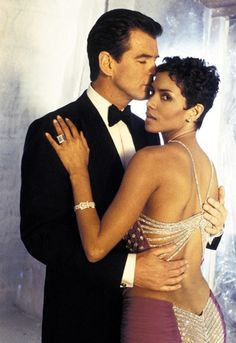 Bond Girls | Halle Berry and Pierce Brosnan in Die Another Day, 2002